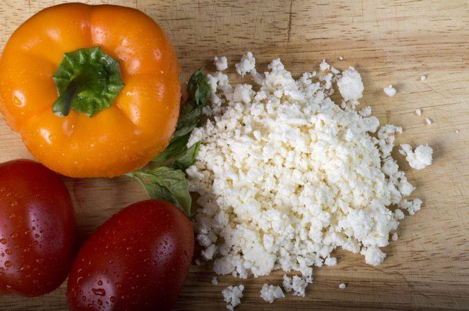 crema peperoni e feta